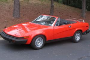 1980 Triumph Other Convertible Sports Coupe Photo
