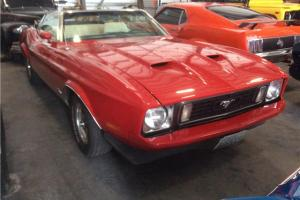 1973 Ford Mustang 2 Dr. Convertible