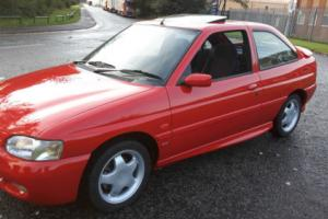 1996 FORD ESCORT RS2000 4WD RED