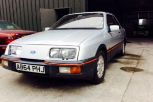 FORD SIERRA XR4i 1983 BARN FIND BEEN STORED SINCE 1988 FULL SERVICE HISTORY