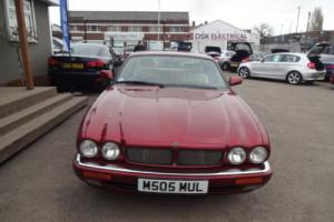 1995 JAGUAR XJR AUTO RED
