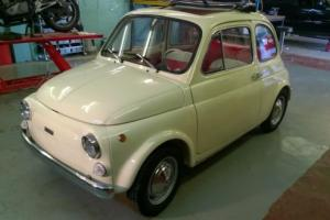 BEAUTIFULL, PROFESSIONALLY RESTORED 1972 FIAT 500R