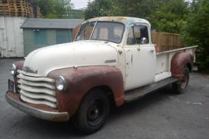 1951 Chevrolet 3600 Side Step Pick Up Truck UK Registered, Tax and Mot Exempt