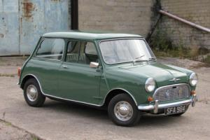 1963 Morris MINI Minor 850cc Same Family from New 57000 miles Full Restoration