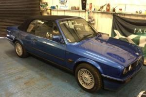 1992 BMW 3 SERIES 1.8 318I 2D 115 BHP DESIGN CONVERTIBLE LIMITED EDITION