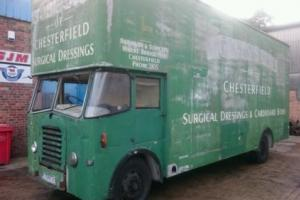 1955 BEDFORD SBO PANEL / LUTON / BOX LORRY EX ROBINSONS OF CHESTERFIELD