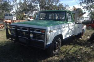 Ford F350 TOW Truck Early 70'S Complete Suit F150 F250 Buyers