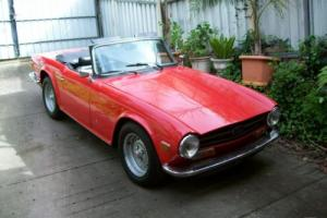 Triumph TR 6 1973 2D Sports Manual 2 5L Fuel Injected Seats in SA Photo