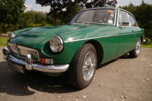Rare 1969 MGC-GT British Racing Green with black leather. 2 door coupe