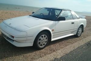 TOYOTA MR2 MK1, 1988, 1600 TWIN CAM, T BAR,LOW MILAGE 77,000,