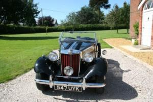 1953 LHD MG TD II Photo