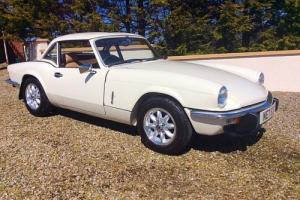 TRIUMPH SPITFIRE 1500 - 2 LADY OWNERS JUST 48K MILES - PX ROLEX HUBLOT KIT MG RS Photo
