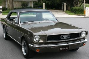 1966 Ford Mustang COUPE - CALIFORNIA - A/C - 53K MILES