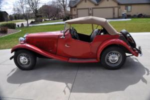 1951 MG TD Photo