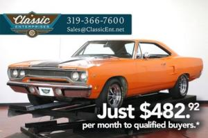 1970 Plymouth Road Runner Numbers Matching 6 Barrel 4 speed Dana Trac Pack