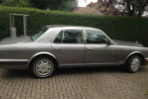 1995 BENTLEY BROOKLANDS AUTO SILVER and private plate LOW MILEAGE