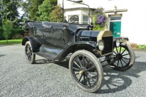 FORD MODEL T TOURING 1916 BRASS
