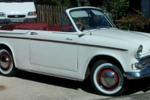HILLMAN MINX SERIES 111A CONVERTIBLE 1960 Photo