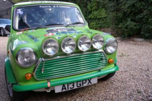 GB Network Q Rally Car 1998 Classic Mini Cooper , actual competition car.
