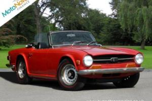TRIUMPH TR6 , Red, Manual, Petrol, 1971