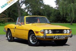 TRIUMPH STAG Mark 1, Yellow, Manual Over Drive, 1970 Photo