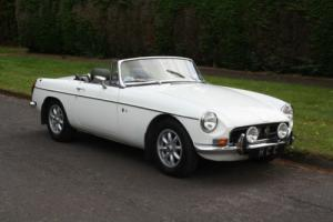 1970 MGB ROADSTER WHITE....LOVELY CAR FROM HCC