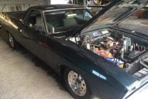 Xb coupe ute gs options fitted project collector drag