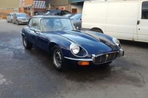 1972 JAGUAR E-TYPE SERIES 3 V12 5.3 RHD MATCHING NUMBERS GENUINE UK CAR Photo