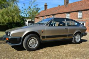 1985 Alfa Romeo GTV 2000 1 Owner 34,000 miles 100% Original Concourse Condition!