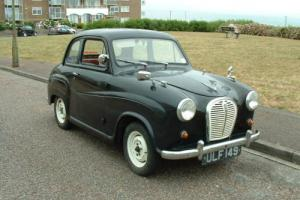 AUSTIN A35 BLACK 1957 original registration