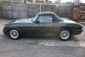 MGR-V8 SPORTS 3.9i CONVERTIBLE 1994 WOODCOTE GREEN WITH CREAM LEATHER