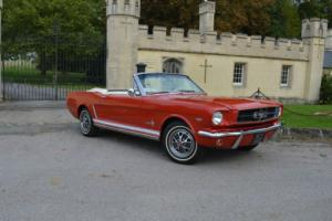 1965 Ford Mustang Convertible V8 4bbl Manual