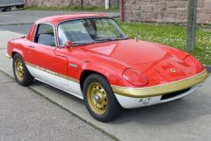 Lotus Elan Sprint FHC Big valve with weber Photo
