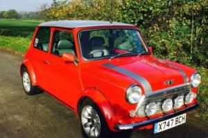 Classic Rover Mini Cooper Sport 1.3 Mpi Red Silver Photo