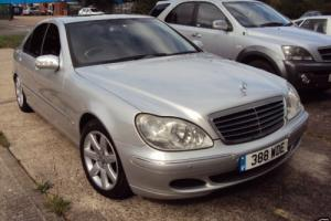 Mercedes Benz S320 CDI LOADED INC OPTIC SUN ROOF PRIVATE REG