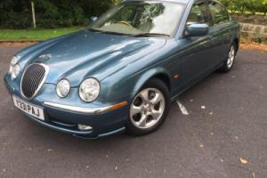 Jaguar S-TYPE 3.0 auto 2001MY V6 SE VERY LOW 31000 MILES 1 OWNER
