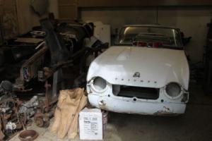 1963 Triumph TR4 for restoration, with lhd bodyshell and chassis