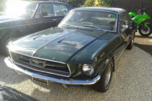 FORD MUSTANG 289 COUPE 1967