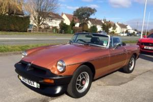 MGB Roadster 1.8 LE , Overdrive , 6 months warranty and 12 months Mot Photo
