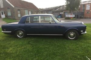 ROLLS ROYCE SILVER SHADOW 1972BLUE Photo