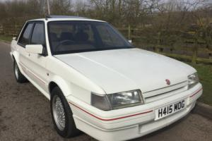 1990 ROVER MONTEGO MGi WHITE - VERY RARE CAR - LOW MILEAGE - EXCELLENT CONDITION Photo