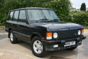 STUNNING CONDITION CLASSIC ROVER RANGE ROVER VOGUE SE A BLUE 1994 SOFT DASH