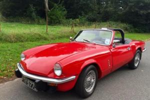 Triumph Spitfire 1500 with Overdrive, Wire wheels,6 months warranty Photo