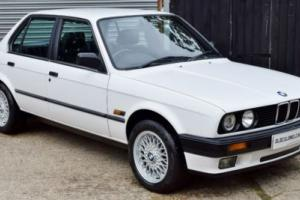 Immaculate BMW E30 - ONLY 88,000 - Full Black leather - FSH - WARRANTY INC