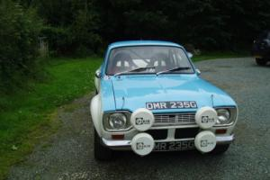 Ford Escort Mk1 big wing rally car Classic Photo