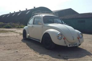 VW BEETLE 1975 WITH MOT TILL JUNE/2017
