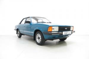 A Superb Original Ford Cortina Mk5 1600L with an Incredible 28,966 Miles