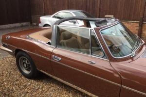 1978 Triumph Stag Photo