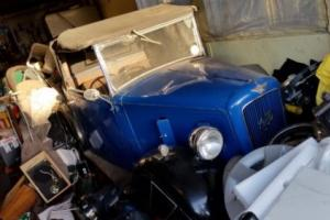 AUSTIN SEVEN 7 SOFT TOP CONVERTIBLE,BEEN DRY STORED 24 YEARS Photo