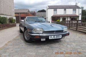 1989 JAGUAR XJ-S AUTO METALLIC BLUE 93.OOO MILES LADY OWNED LAST 16 YEARS